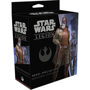 Star Wars Legion - Rebel - Rebel Specialists Personnel Expansion