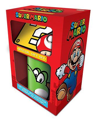 Mug, Coaster and Keyring Gift Set - Yoshi (Super Mario)