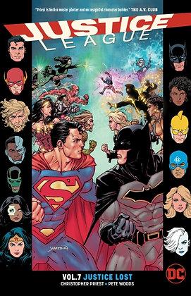 Justice League ( Rebirth ) Vol 07 - Justice Lost