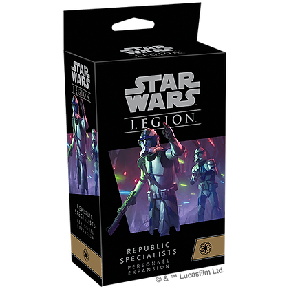 Star Wars Legion - Galactic Republic - Republic Specialists Personnel Expansions