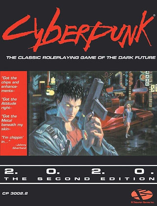 Cyberpunk 2020 the Second Edition - Roleplaying game