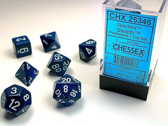 Dice Chessex Speckled 7 Die Set - Stealth