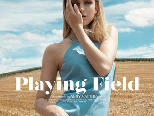 "Elléments Magazine (US)- ""Playing Field"""