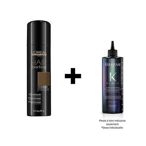 HAIR TOUCH UP & 1 TRAITEMENT KWATER