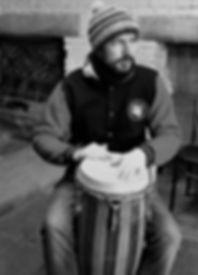 Jonas Prina Drums, tribal ensemble, Basel
