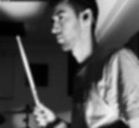 Dominik Hoyer Drums, tribal ensemble, Basel
