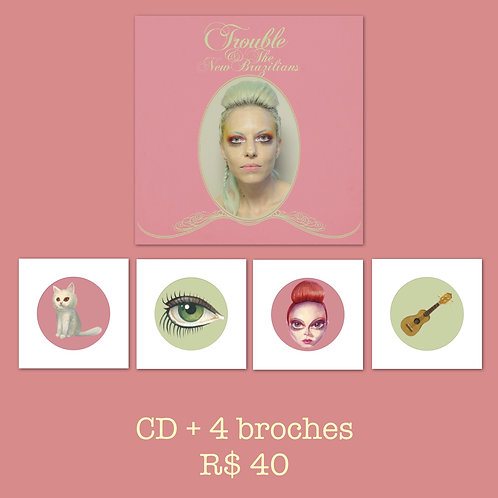 CD + Broches