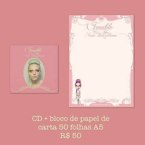 CD + Papel de Carta