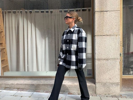 Fall 2020: how to style plaid wool jackets
