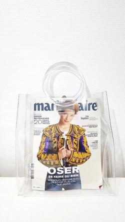 sac à main transparent