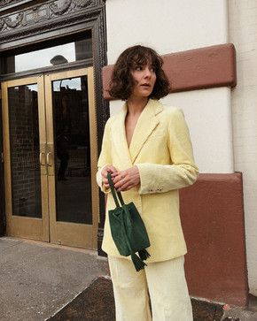 How to style corduroy suits