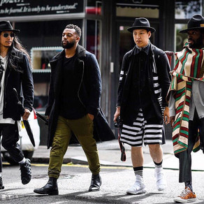London Collection: Menswear Fashion Week S/S 2017