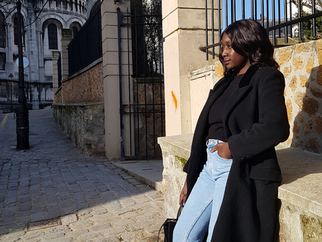 How to style a vintage wool coat