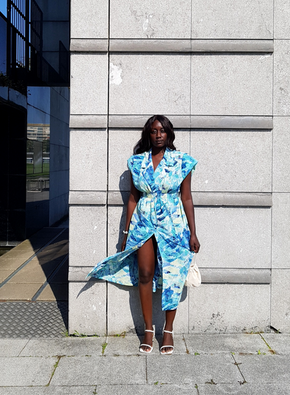 Thrift flip : transform a kimono into a wrap dress