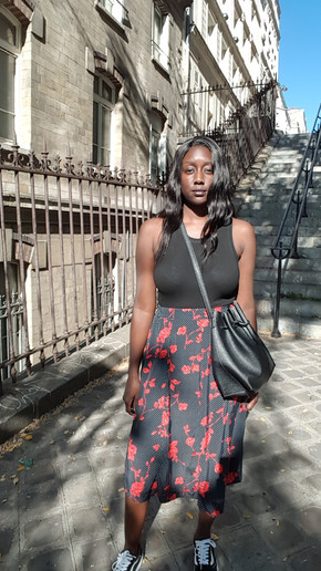 How to style a vintage polka dot skirt