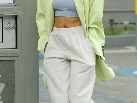 Hailey Baldwin's style