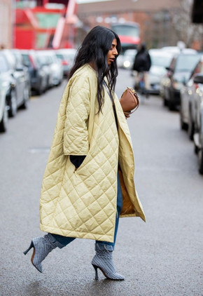 Fall 2020: how to style quilted coats