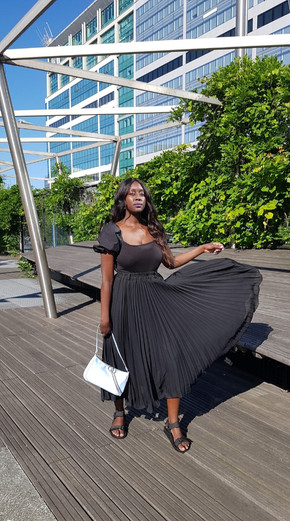 Create a Parisian summer look with thrifted pieces