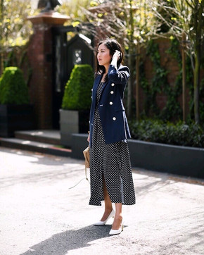How To Style Polka Dots