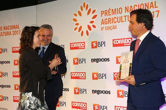 Montiqueijo distinguida com Prémio Nacional da Agricultura