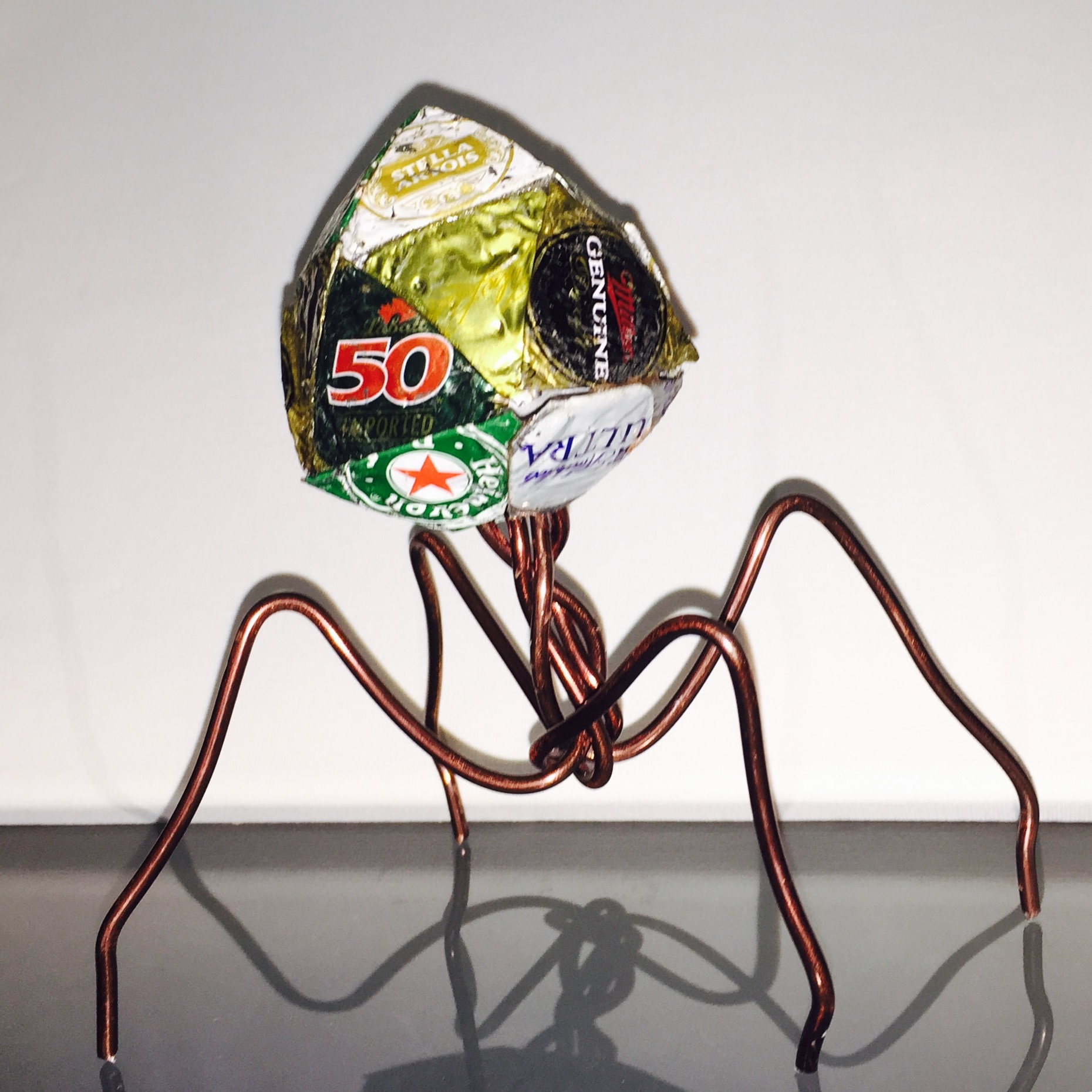 AluminumCopperWire Bacteriophage