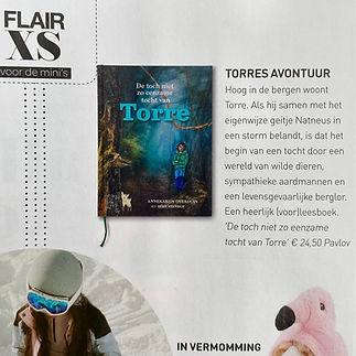 Kinderboek Flair tijdschrift Kinderboek avontuur De toch niet zo eenzame tocht van Torre boek Flair.jpeg