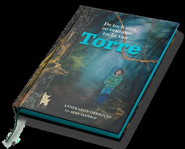 Torre Kinderboek Torre, Kinderboek De toch niet zo eenzame tocht van Torre, auteur Annekarijn Overduin, Illustrator Bern Veenhof, Pavlov