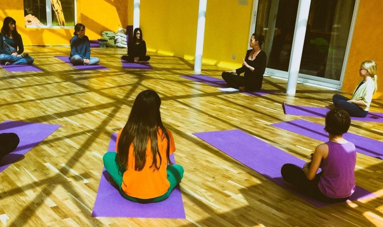 Stress management Yoga workshop 11-16 yr