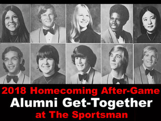 Homecoming 2018 After Game Alumni Get-Together!!!