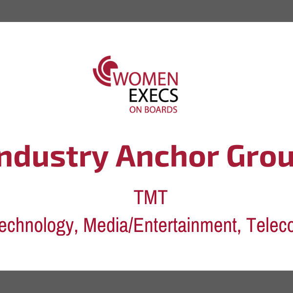 Industry Anchor Group TMT ( Technology, Media/Entertainment & Telecoms) (4)