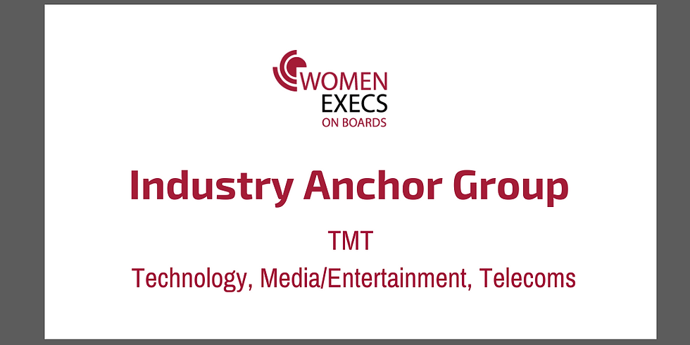 Industry Anchor Group TMT ( Technology, Media/Entertainment & Telecoms) (2)