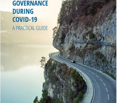 ADAPTIVE GOVERNANCE  DURING COVID-19: A PRACTICAL GUIDE