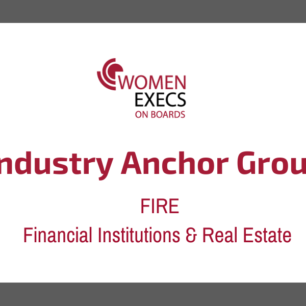 Industry Anchor Group: FIRE