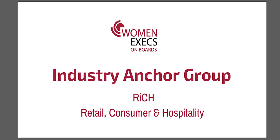 RiCH (Retail, Consumer Products, Hospitality) Industry Group