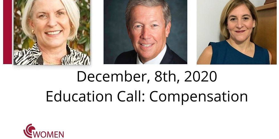 Education Call: Compensation Committee