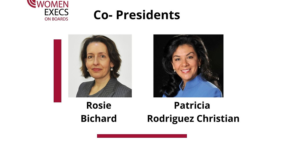 New Member Meet & Greet with Co-Presidents Rosie Bichard & Patricia Rodriguez Christian
