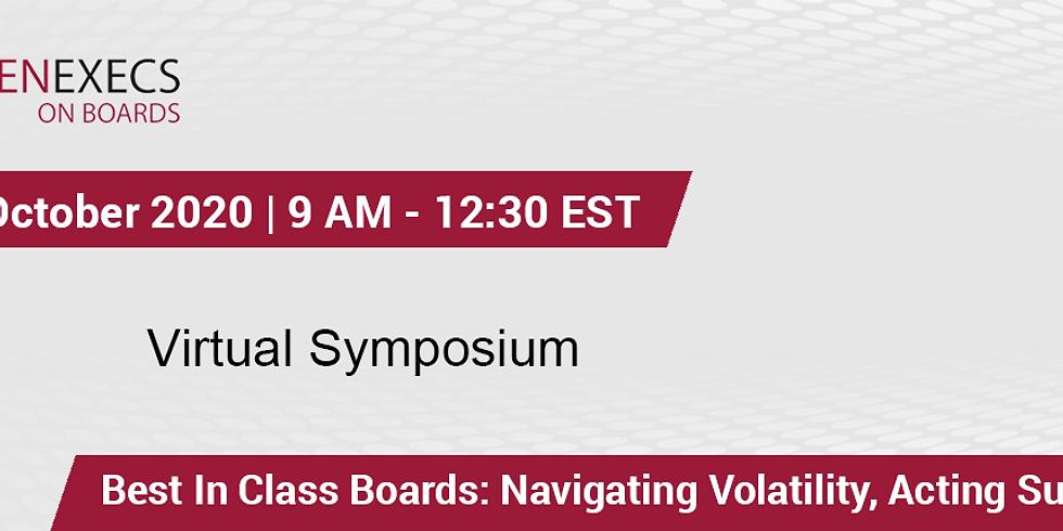 Virtual Symposium 2020