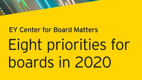 Eight Priorities for Boards in 2020