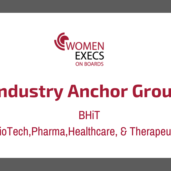 Industry Anchor Group: BPHiT ( Biotech,Pharma, Healthcare, Therapeutics)