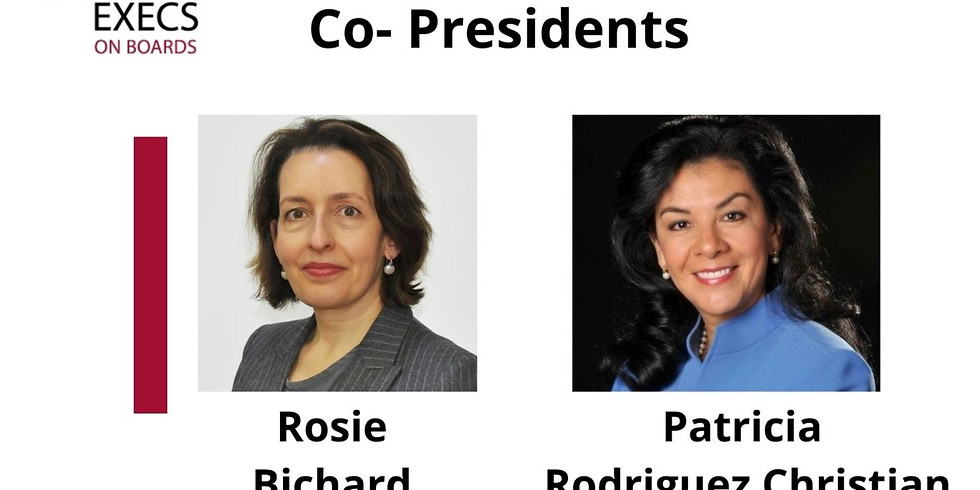 New Member Orientation Call: Hosted by Rosie Bichard & Patricia Rodriguez Christian