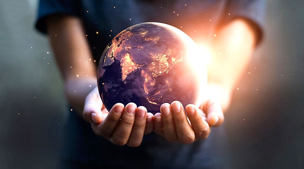 Earth at night was holding in human hands. Earth day_edited.jpg