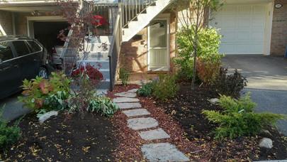 Condominium Natural Landscaping