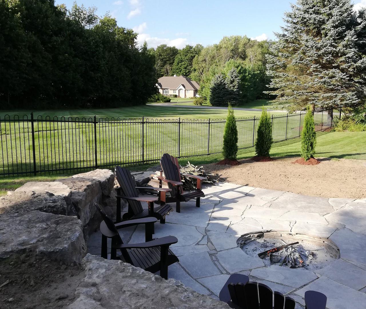 Pool Deck Stone Surround