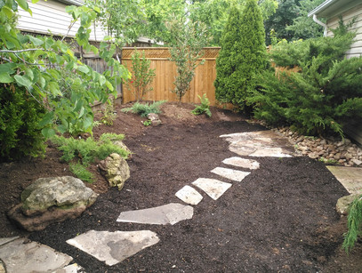 Backyard Transformation in Oakville