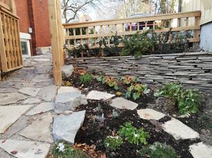 Stone Walkway & Paths