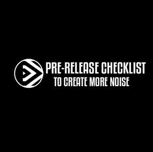 Pre-Release Checklist