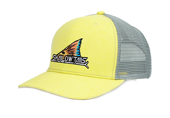 Heather Yellow & Gray - Tailing Fin Hat
