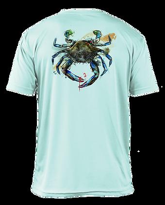 Solar Performance Short Sleeve (Blue Crab)
