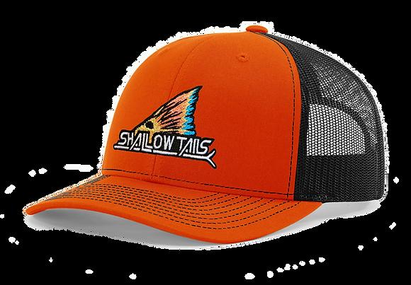 Orange & Black - Tailing Fin Hat