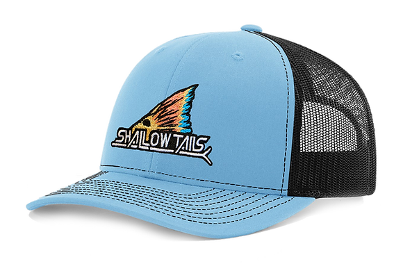 Columbia Blue & Black - Tailing Fin Hat